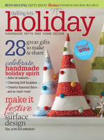 <h5>Quilting Arts Holiday 2015</h5><p>My Inn Street Clutch is found on page 80.</p>