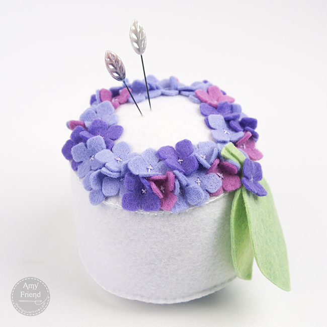 Hydrangea Pin Cushion