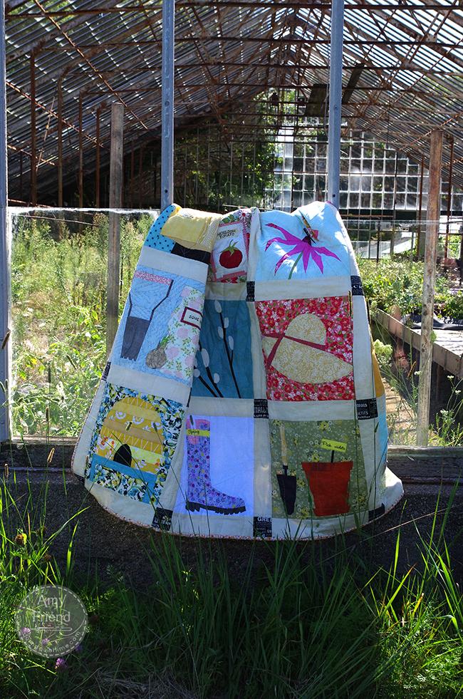garden quilt greenhouse