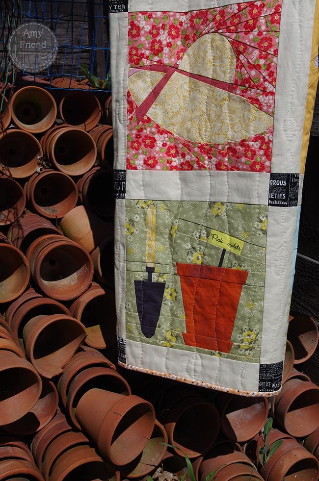 garden quilt pots