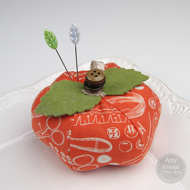 pumpkin pincushion one