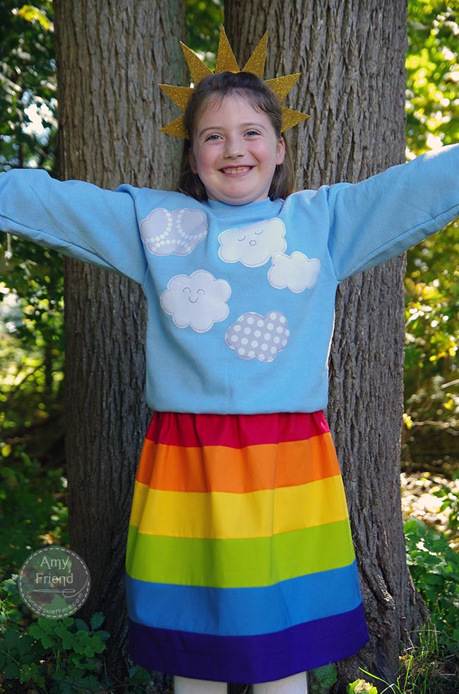 Rainbow Costume 2
