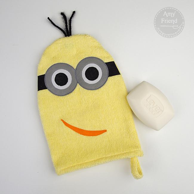 Minion Washcloth
