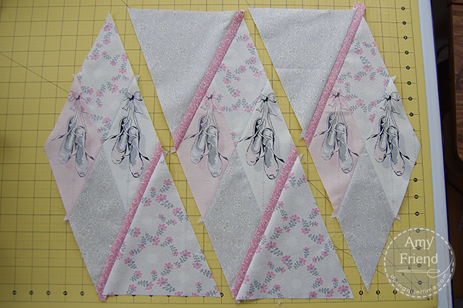 Ballerina Argyle Pillow step 5