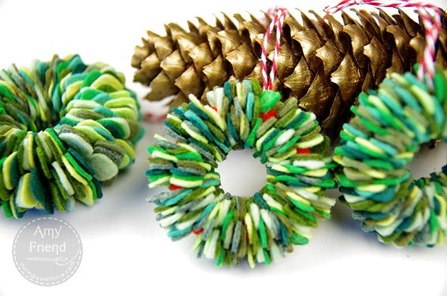 Felt wreaths 3