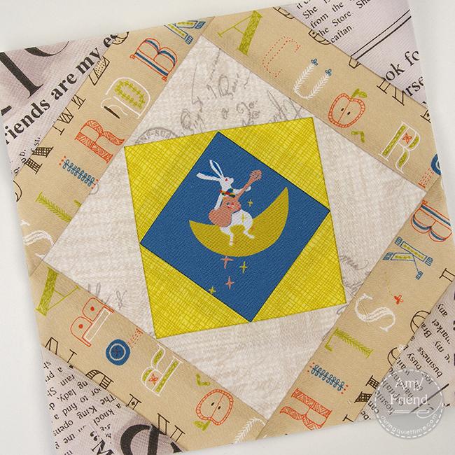 Bunny Mosaic Block