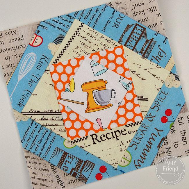 Mosaic Paper Pieced Block