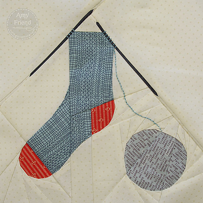 Knitting Socks by Amy Friend