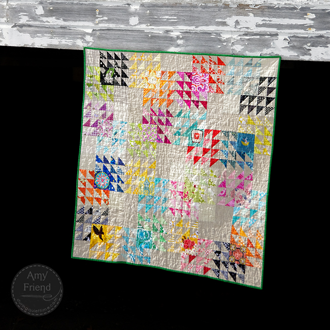 Winged Square quilt