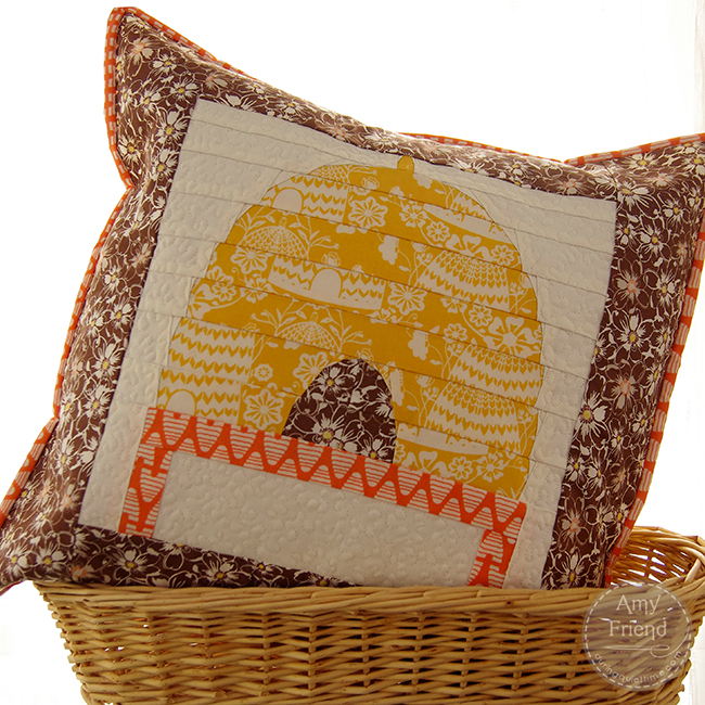 Sweet as Honey Pillow by Amy Friend