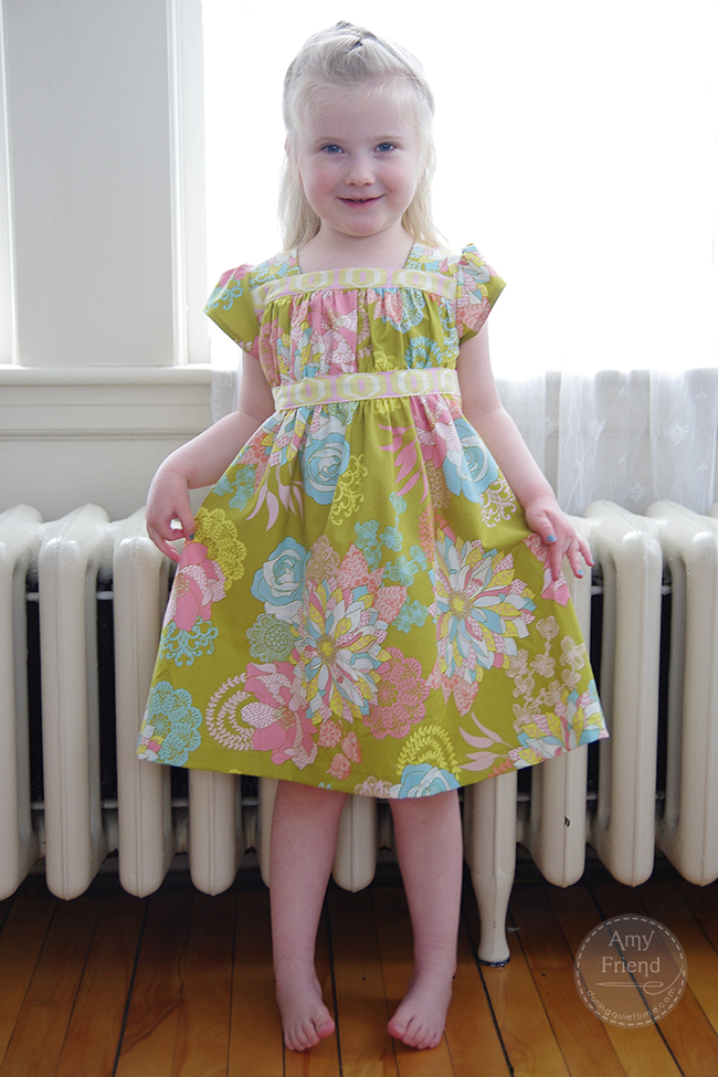 Garden Party Dress in Hope Chest