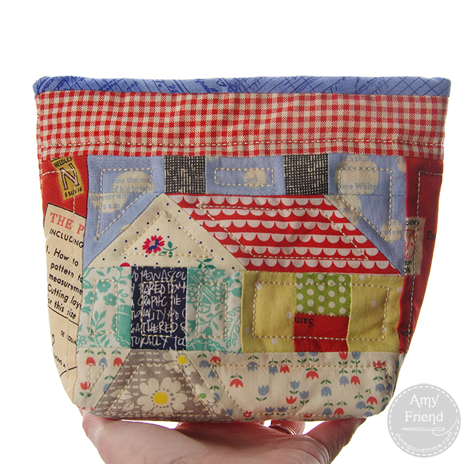 Patchwork House Pouch