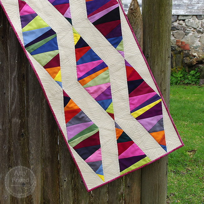 Oakshott Colourshott Diamond Runner by Amy Friend