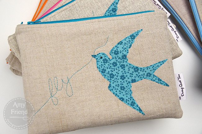 Fly Zip Bags by Amy Friend