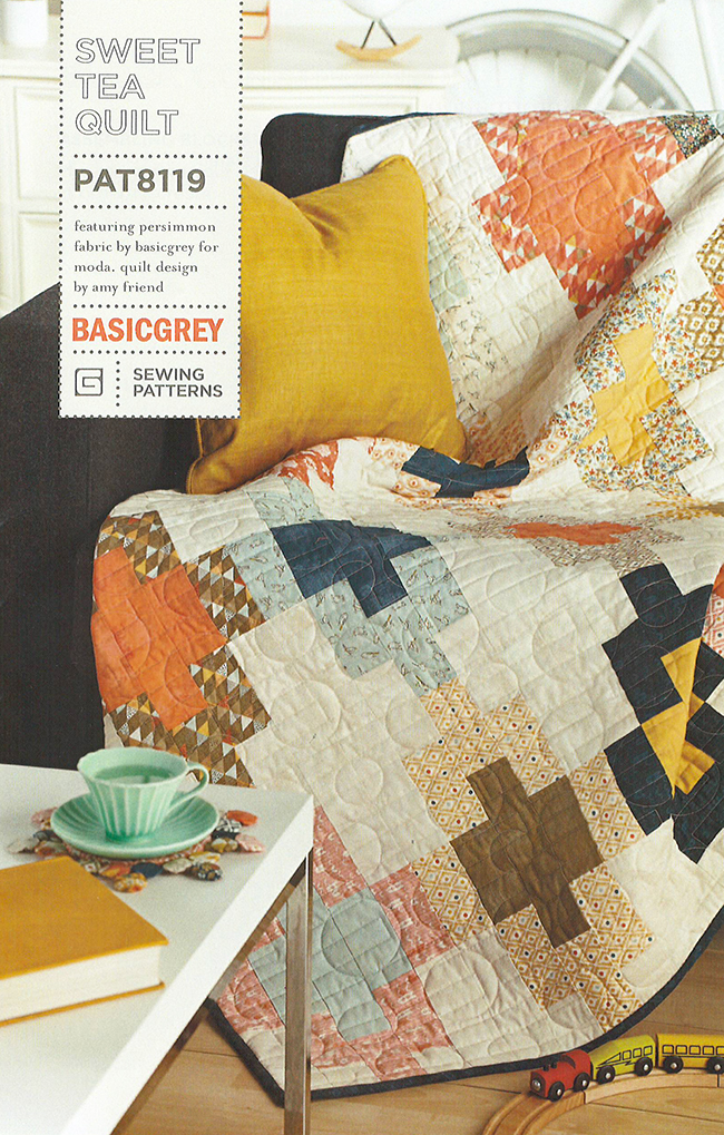 Sweet Tea Pattern by Amy Friend for BasicGrey