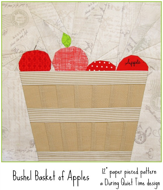 Bushel Basket of Apples Pattern by Amy Friend