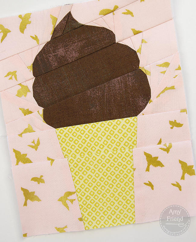Soft Serve Ice Cream Cone by Amy Friend