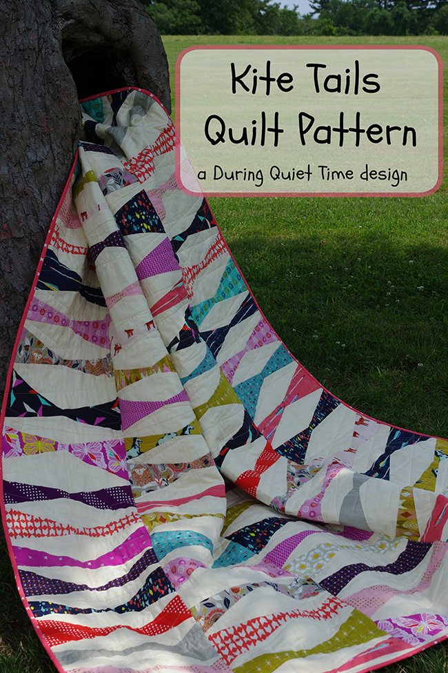 Kite Tails Quilt Pattern by Amy Friend