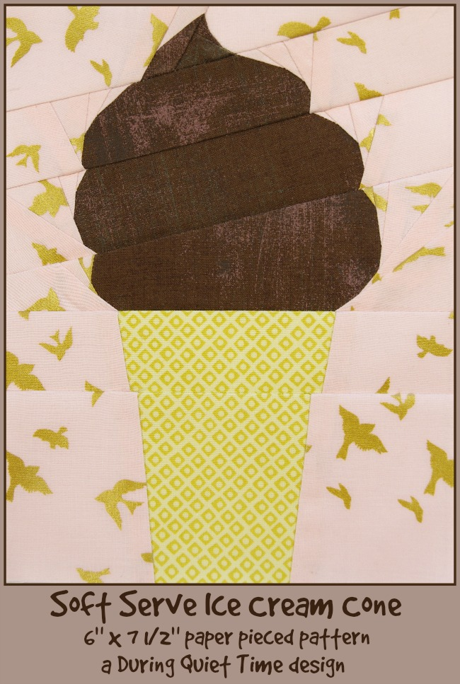Soft Serve Ice Cream Cone Cover by Amy Friend