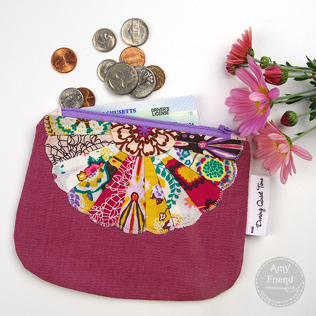 Mini Dresden Coin Purse by Amy Friend