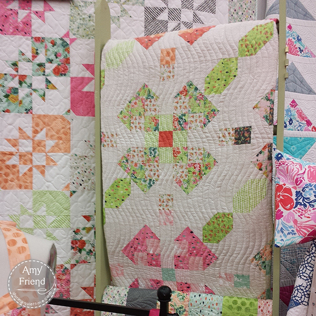 Primrose Square Quilt Pattern by Amy Friend for BasicGrey
