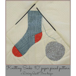 Knitting Socks Coverc