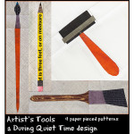 artist's tools coverc
