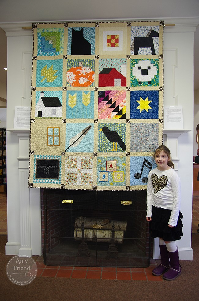 Lily's Quilt On Exhibit
