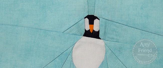 Easter Island Bird Paper Pieced Pattern by Amy Friend