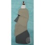 Easter Island Moai Paper Pieced Pattern with Bird by Amy Friend