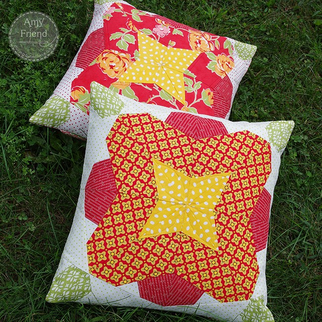 Hothouse Flower Pillows by Amy Friend
