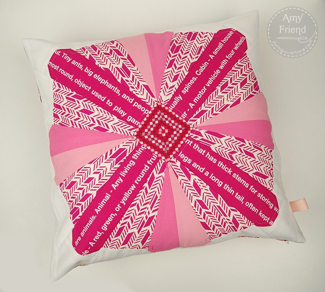 Posy Pillow by Amy Friend