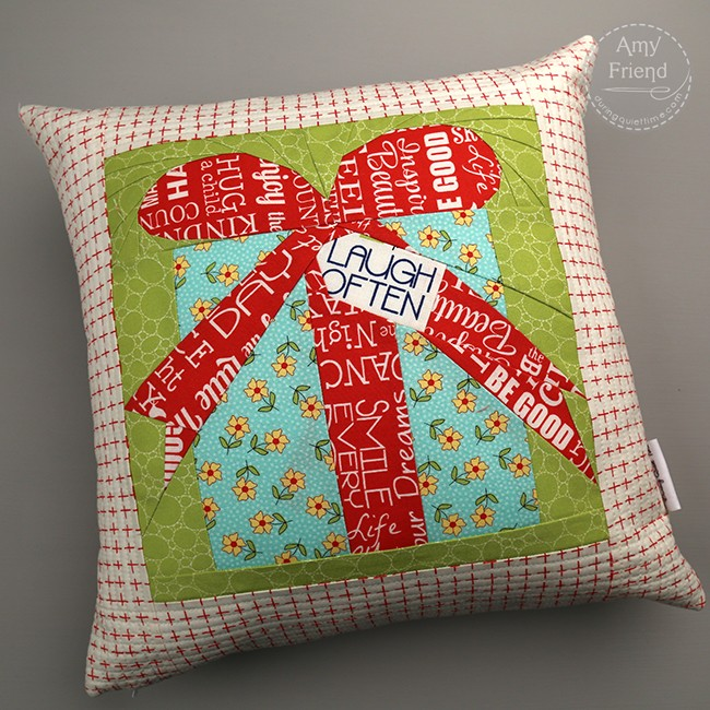 A Sweet Life Pillow by Amy Friend