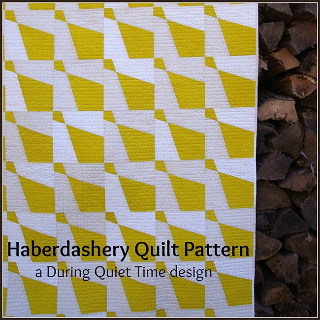 Haberdashery Quilt Pattern by Amy Friend