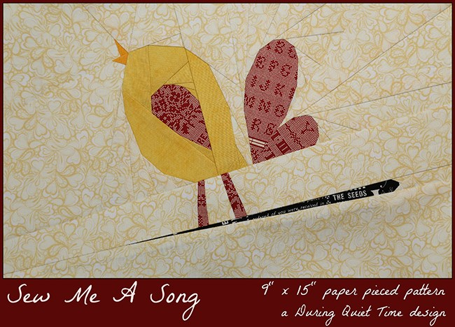 Sew Me A Song free pattern by Amy Friend