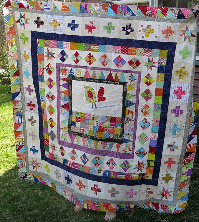Medallion quilt by Becca of Sew Me A Song