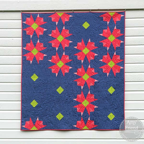 Garden Stroll Quilt by Amy Friend