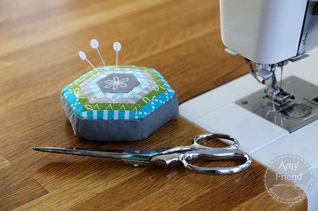 Good Neighbors Pincushion by Amy Friend