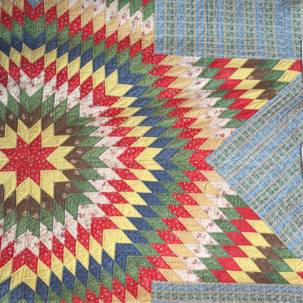 Antique Star Quilt Photo courtesy of Amy Smart, http://www.diaryofaquilter.com/