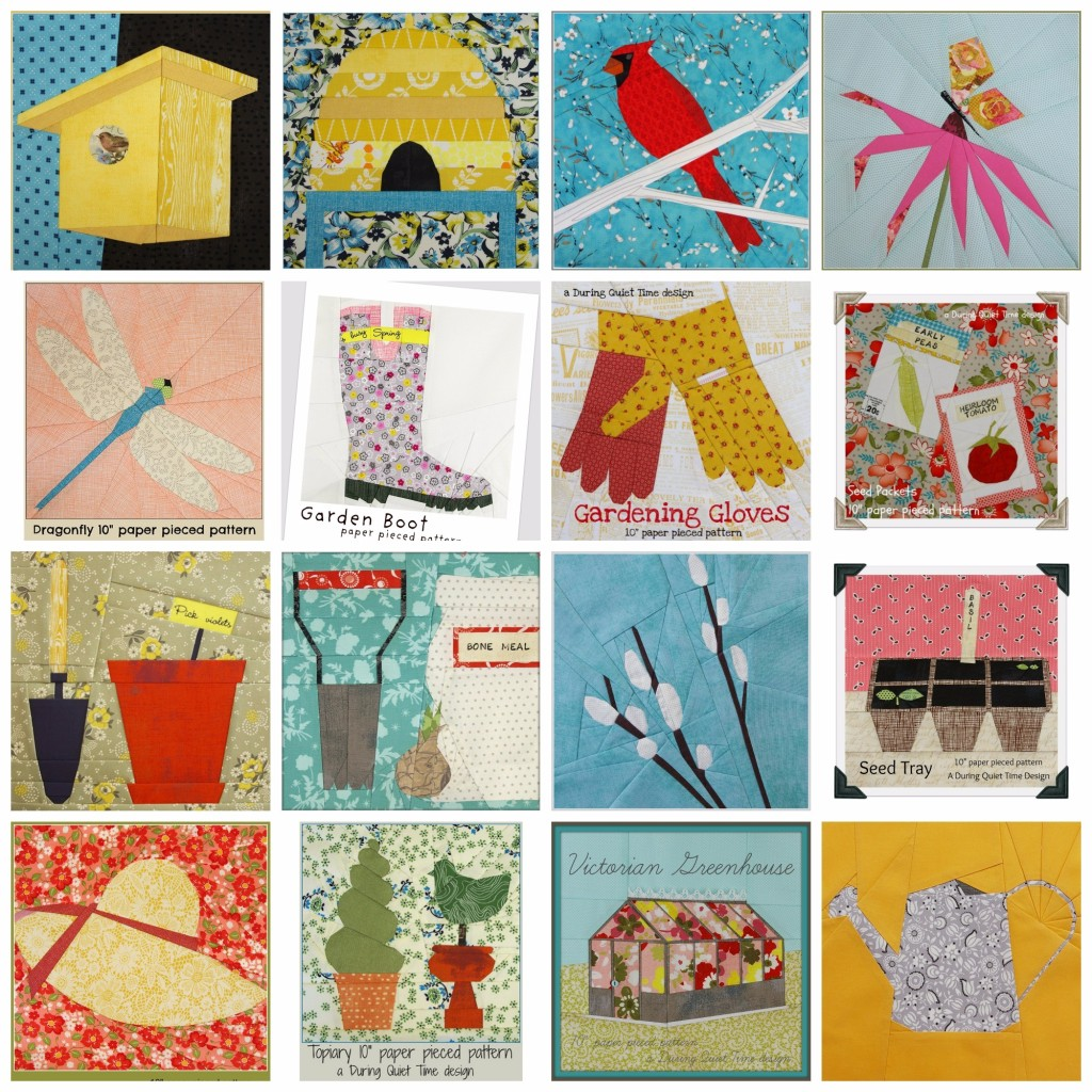 Garden Blocks by Amy Friend