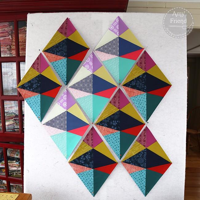 Diamond WIP by Amy Friend