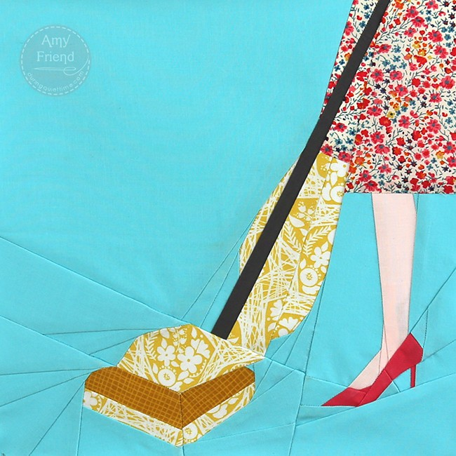 Vintage Vacuum by Amy Friend