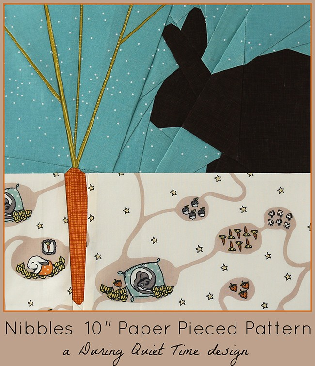 Nibbles Paper Pieced Pattern by Amy Friend