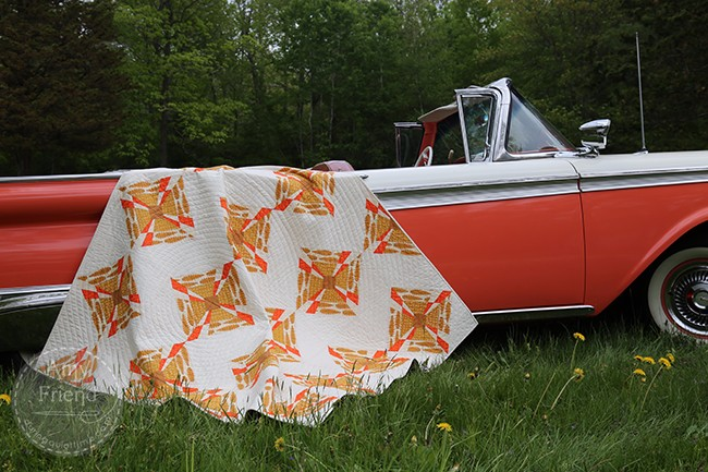 Tumble 'Round Quilt by Amy Friend from Intentional Piecing