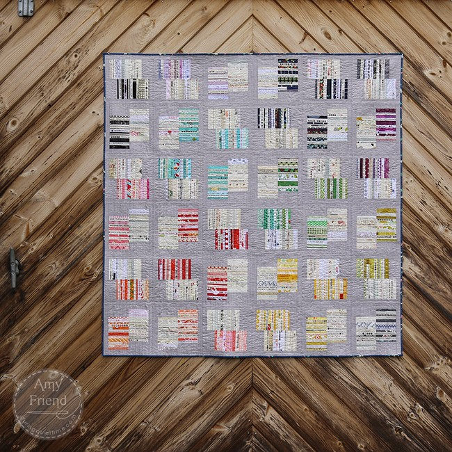 Circuitry Quilt by Amy Friend from Intentional Piecing