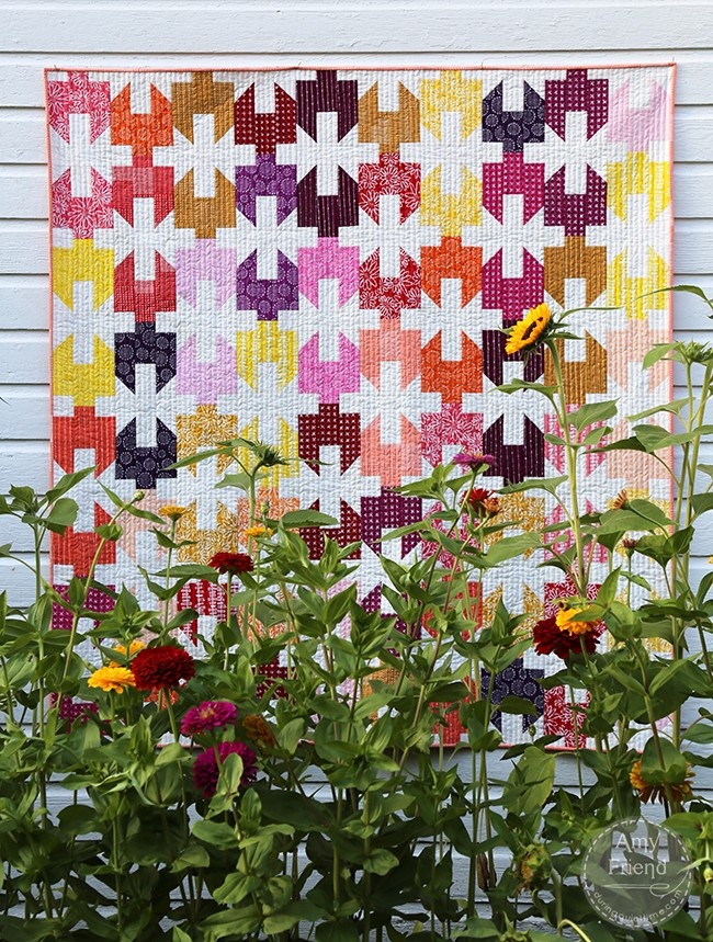 Cinched Quilt by Amy Friend