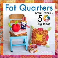 <h5>Fat Quarters</h5><p>I have three projects in this book!</p>