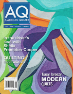 <h5>American Quilter May 2014 </h5><p>My Melon Ice Quilt is featured in this issue.  The pattern is now available in my Pattern Shop as well.</p>