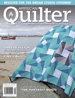 <h5>American Quilter Sept. 2013</h5><p>My Spinning Wheel Quilt is shown on the cover.  The pattern is now available in my Pattern Shop as well.                                                   </p>