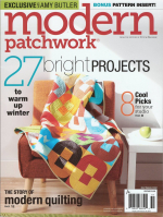 <h5>Modern Patchwork Winter 2015</h5><p>My Interlock Quilt Pattern is shared in this issue.                                                                                                      </p>